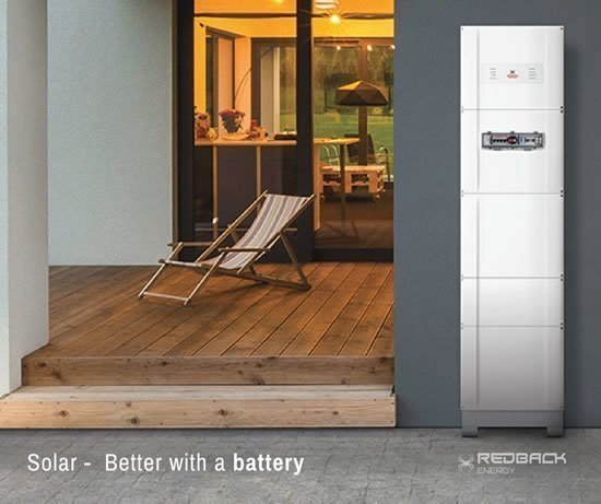 Redback Solar Inverter with Battery Storage