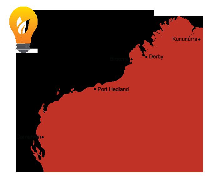 Western Australia Solar Installation Areas